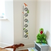 Magnetic Height Chart With Photo Frames - Dinosaur
