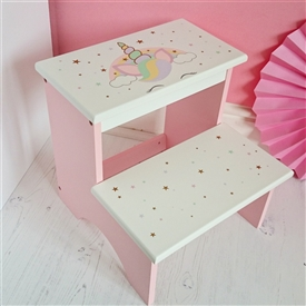Unicorn Step Stool