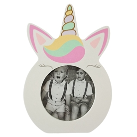 Unicorn Photo Frame 14cm