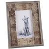 Rustic Bark Photo Frame 6x4""