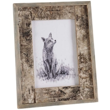 Rustic Bark Photo Frame 7x5""