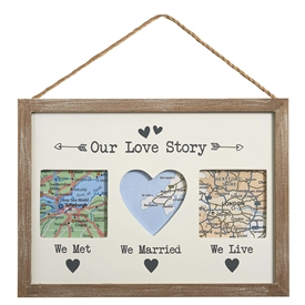 Our Love Story Frame