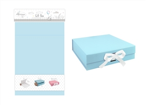Collapsible Blue Gift Box 31cm