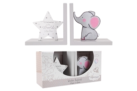 Elephant And Star Bookends