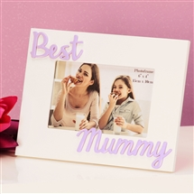 Photo Frame 3d Best Mummy 6x4