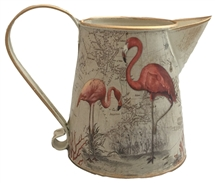 Antique Maps Flamingo Metal Jug 12.5cm