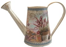 Lavender Metal Watering Can 25cm