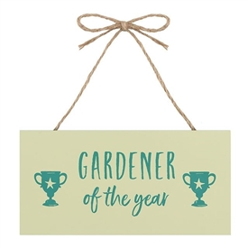 Gardener Of The Year Sign