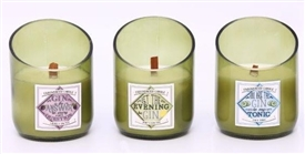Gin Scented Candles 3 Assorted