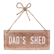Dads Shed MDF Garden Sign