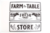 Farm Metal Wall Plaque 3 Assorted 53cm