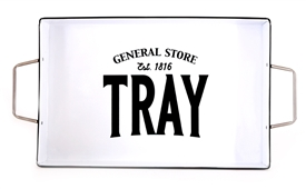 General Store Large Iron Serving Tray 28cm