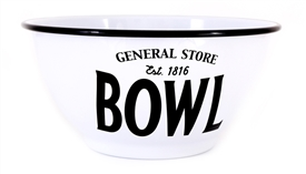 General Store Large Iron Mixing Bowl 26cm