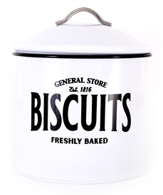 General Store Iron Biscuit Tin 21cm