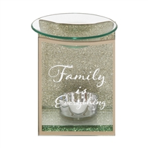 Gold Glass Wax Melter / Oil Burner Family