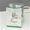 Abstract Glass Oil Burner