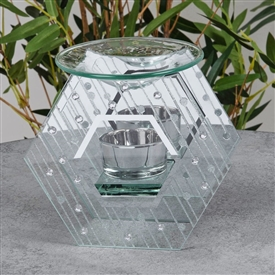 Hestia Raindrop Design Oil Burner