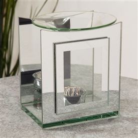 Hestia Double Layer Glass Oil Burner