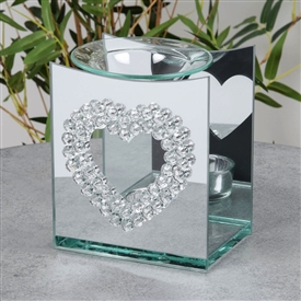 Hestia Gem Heart Oil Burner