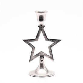 Standing Star Candle Holder 20cm