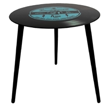 DUE JUNE-50cm Retro Record Table - Blue