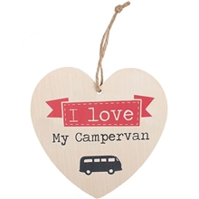Love My Campervan Plaque