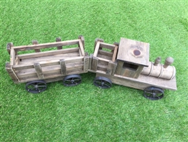Wooden Train Planter - 68cm