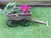 Pushcart Planter with Metal Wheels - 53cm