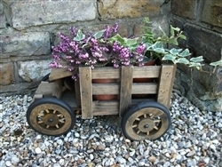 REDUCED, LIMITED TIME ONLY<p>Wooden Truck Planter