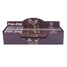 Anne Stokes Dragon Beauty Incense Sticks x6 Tubes