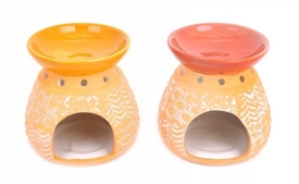 Kasbah Oil Burner 8cm 4 Assorted