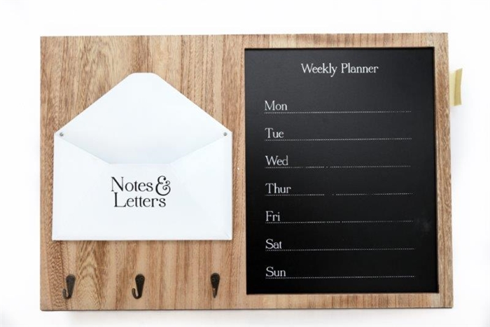 Planner And Letters Board 60cm