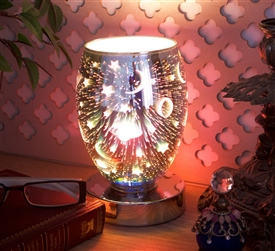 Touch Sensitive 3D Moon & Stars Aroma Lamp