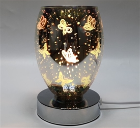Touch Sensitive 3D Butterflies Aroma Lamp