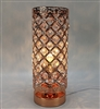 Touch Sensitive Jewelled Rosegold Aroma Lamp