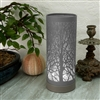 Grey Touch Sensitive Aroma Lamp 26cm