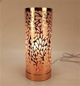 Touch Sensitive Raindrop Aroma Lamp - Rosegold/White