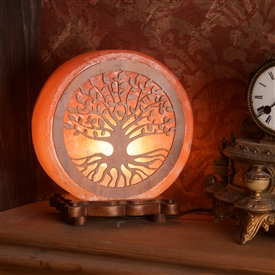 Himalayan Salt Tree Of Life Lamp 22cm
