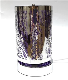SPINNING Touch Sensitive Aroma Lamp - Purple Tree