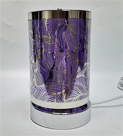 SPINNING Touch Sensitive Aroma Lamp - Purple Leaf
