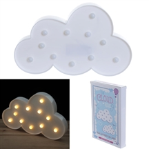REDUCED Cloud Shaped LED Decoration