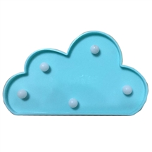 LED Blue Cloud Decoration