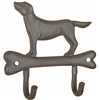 Cast Iron Dog On A Bone Hooks