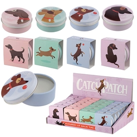 Catch Patch Dog Lip Balm 4 Assorted