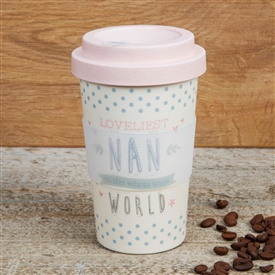 Bamboo Travel Mug Loveliest Nan