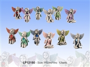 Pewter Birthstone Fairies - 12 Asst