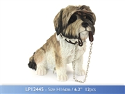 Sitting Shih Tzu Walkies Dog Figurine