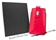 Red Diamante iPhone Case & Pen Set