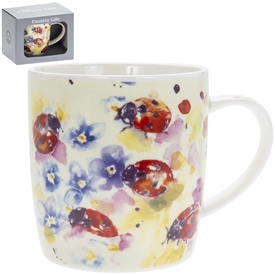 Country Life Ladybird Mug