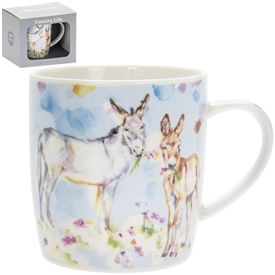 Country Life Donkeys Mug